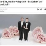 """Arena über """"Ehe für alle"""""""