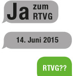 Unbedingt: JA zum neuen RTVG